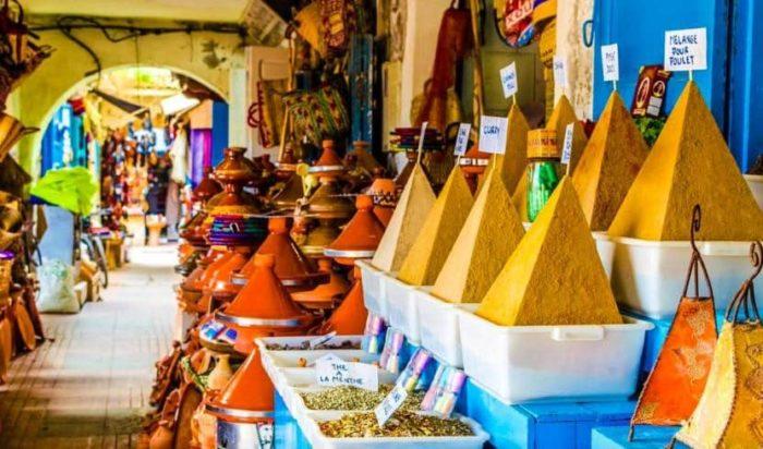 Марокко - рынки