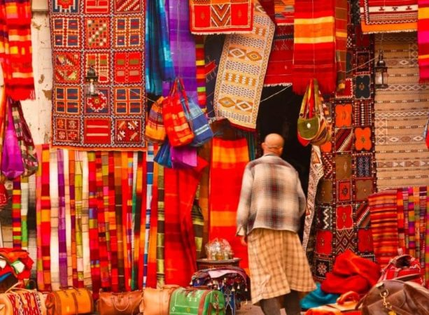 Марокко вещевые рынки