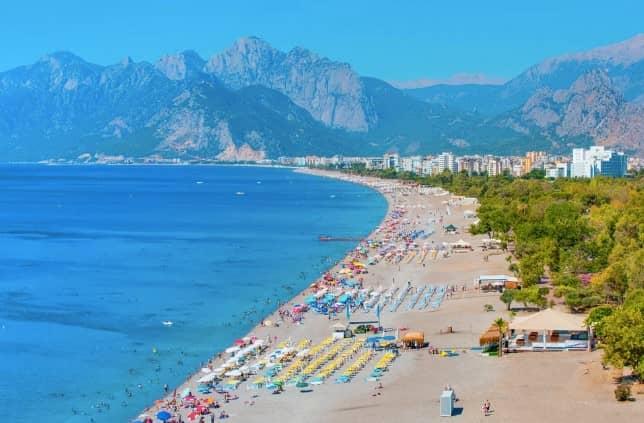 Перге - пляжи