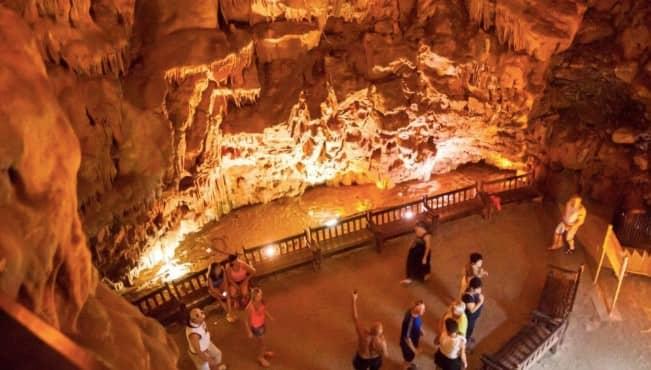 пещерные комплексы Дамлаташ и Дим