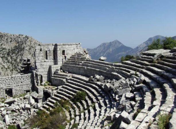 Термессос и Аспендос - развалины