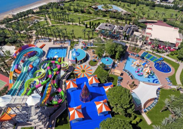 IC Green Palace - аквапарк